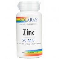 Zinc 50 mg 60 cápsulas solaray