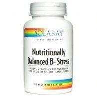 Nutritionally balanced b-stress 100 cápsulas solaray