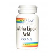 Ácido alfa lipoico 250 mg 60 cápsulas solaray