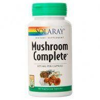 Mushroom complete 1175 mg 60 cápsulas solaray