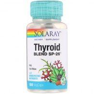 Thyroid blend 100 cápsulas solaray