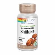 Shiitake 500 mg 60 cápsulas solaray