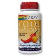 Cool cayenne 60 cápsulas solaray