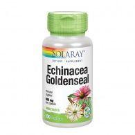 Echinacea y goldensela 100 cápsulas solaray