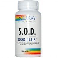 S.o.d. 2000 plus 100 cápsulas solaray