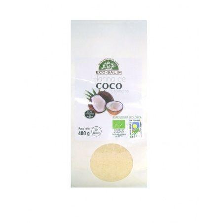 Harina de coco eco 400 gramos eco-salim