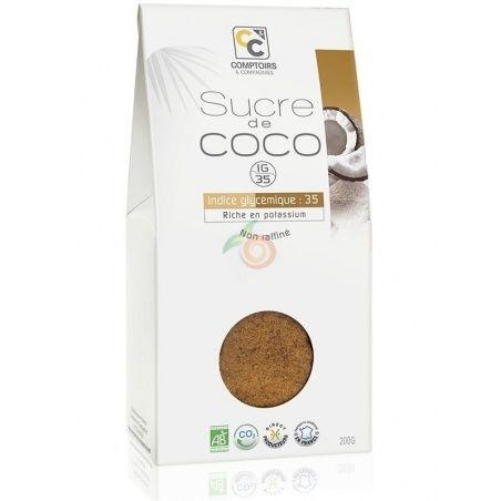 Azúcar de coco bio 200 gramos comptoirs & compagnies