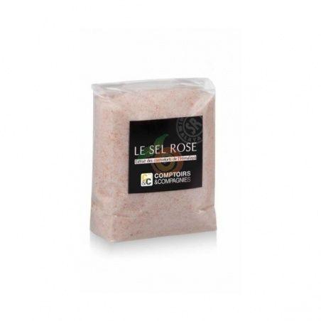 Sal rosa del himalaya fina 500 gramos comptoirs & compagnies