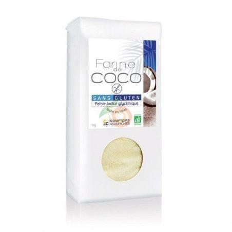 Harina de coco 400 gramos comptoirs & compagnies