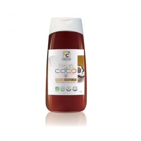 Sirope de coco bio 250 ml comptoirs & compagnies