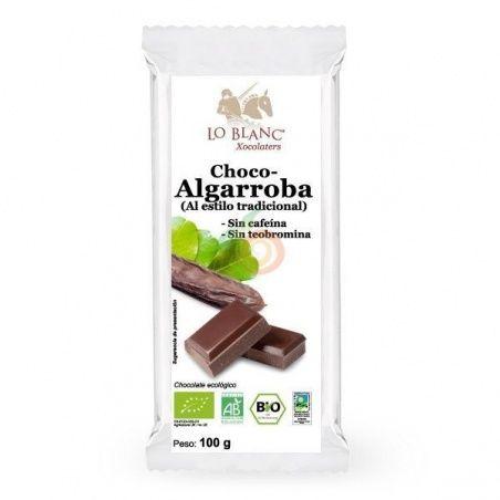 Choco-algarroba 100 gramos lo blanc xocolaters