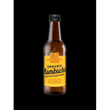 Té kombucha jengibre y limón 330 ml lo bros