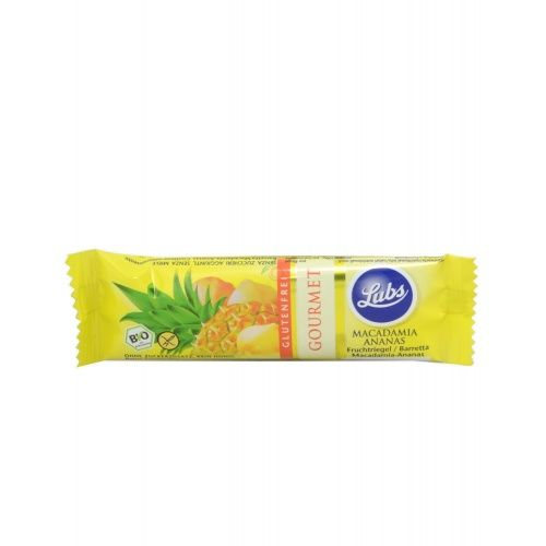 Barrita de piña y macadamia lubs