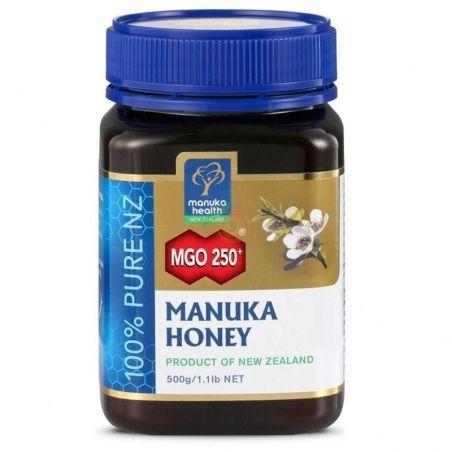 Miel de manuka mgo 250+ 500 gramos manuka world