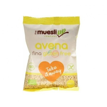 Copos de avena finos take away 45 gramos the muesli up