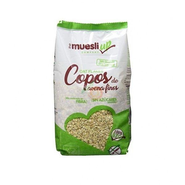 Copos de avena finos 400 gramos the muesli up