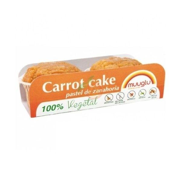Muffins de zanahoria 120 gramos muuglu