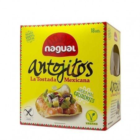 Antojitos tostadas mexicanas 18 unidades nagual