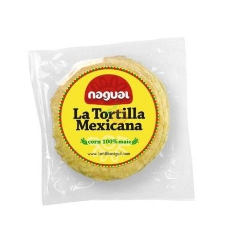 Piadina tortillas de maíz 8 unidades nagual