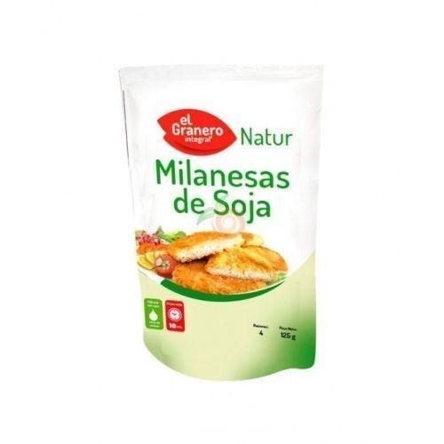 Milanesas de soja 125 gramos granero integral