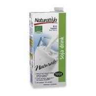 Bebida de soja natural 1 litro naturattiva