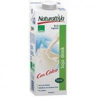 Bebida de soja con calcio 1 litro naturattiva