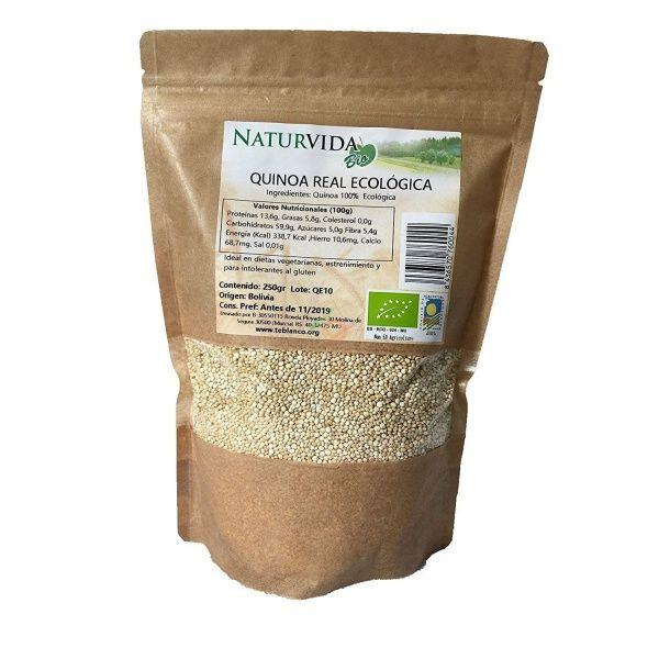 Quinoa real 250 gramos naturvida