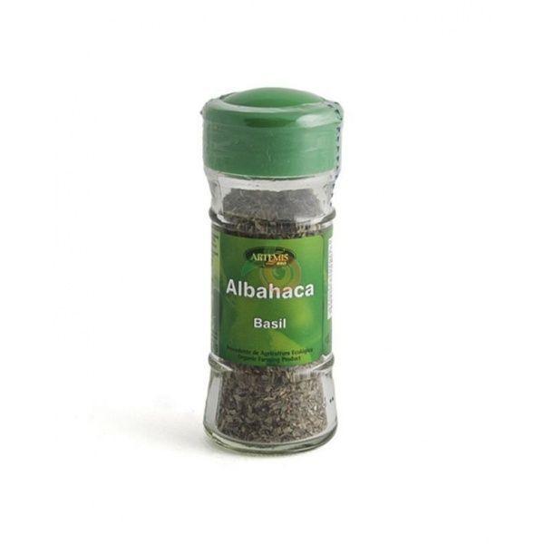 Albahaca especias bio bote 12 gramos artemis
