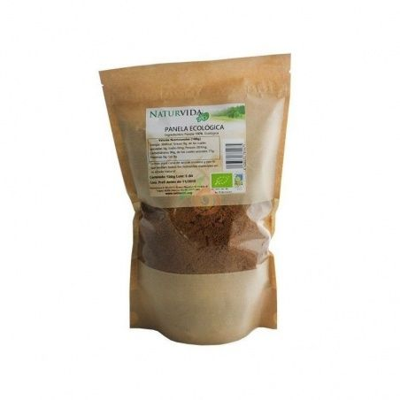 Azúcar panela 500 gramos naturvida