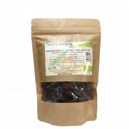 Arándanos rojos 250 gramos naturvida