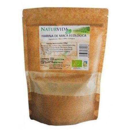 Harina de maca 500 gramos naturvida