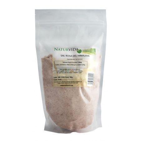 Sal rosa del himalaya 1 kg naturvida