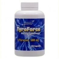 Tyroforce l-tirosina  500 mg 120 cápsulas nutri force nutrition