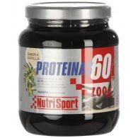 Proteínas 60 sabor vainilla 700 gramos nutri-sport