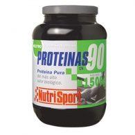 Proteínas 90 sabor neutro 1500 gramos nutri-sport