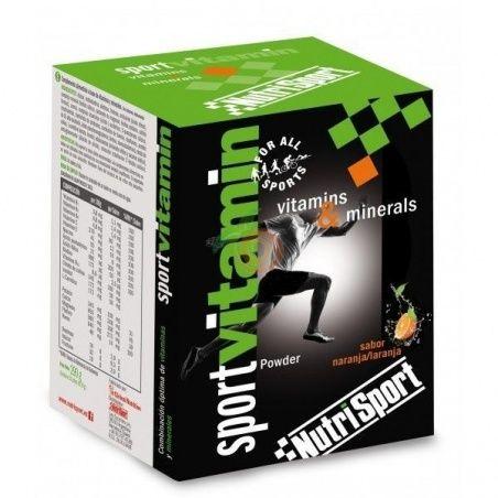 Sportvitamin sobres sabor naranja 10 unidades nutri-sport