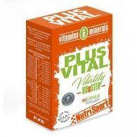 Plusvital vitaminas y minerales 30 cápsulas nutri-sport