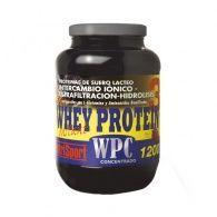 Whey protein 3 sabor fresa 1200 g nutri-sport