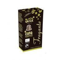 Café fragante bio en cápsulas comercio justo 10 cápsulas alternativa3