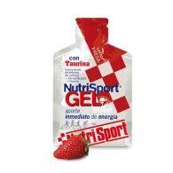 Gel con taurina sabor fresa 40 gramos nutri-sport