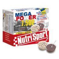 Megapower 7500 natillas sabor chocolate sobres 15 unidades nutri-sport