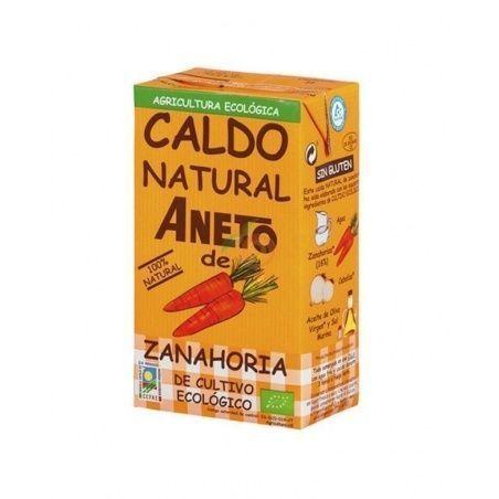 Caldo natural de zanahoria aneto