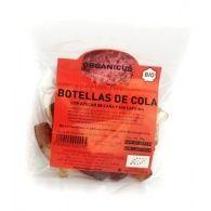 Golosinas botellas de cola 80 gramos organicus