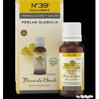 Nº39 perlas globulix tranquilidad y calma 20 gramos original flores bach