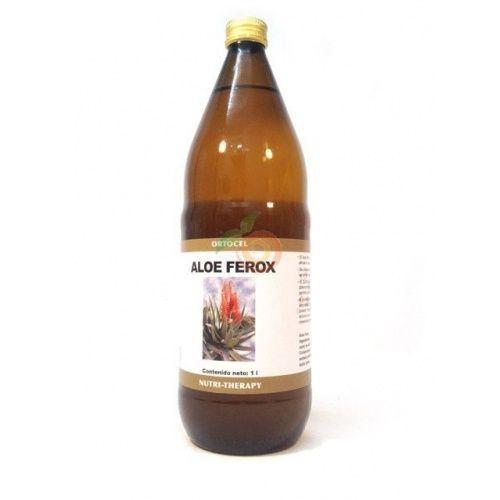 Aloe ferox jugo de aloe vera 1 litro ortocel