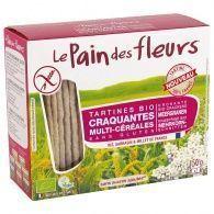 Tostadas multicereales 150 gramos pan de flores