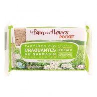 Tostadas de trigo sarraceno pocket 220 gramos pan de flores