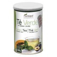 Té verde con papaya y ciruela 200 gramos plantapol