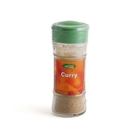 Curry polvo bio bote 30 gramos artemis