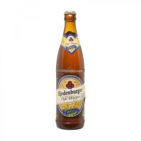 Cerveza weisse de trigo 50 cl riedenburger